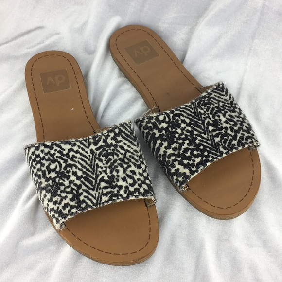 01951509f017 Dolce Vita Shoes | Dolce Vida Animal Print Slide Sandals | Poshmark